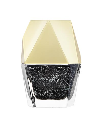 Black Drusy Nail Lacquer