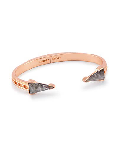 Misty Hinge Bracelet in Crystal Gray Illusion
