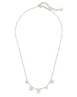 Jae Star Choker Necklace in Silver