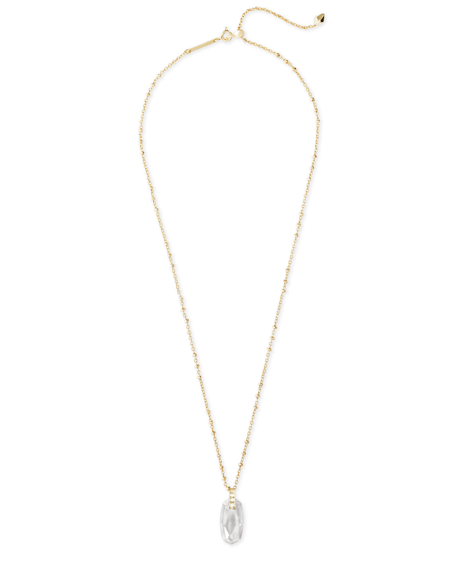 Camila Pendant Necklace in Gold