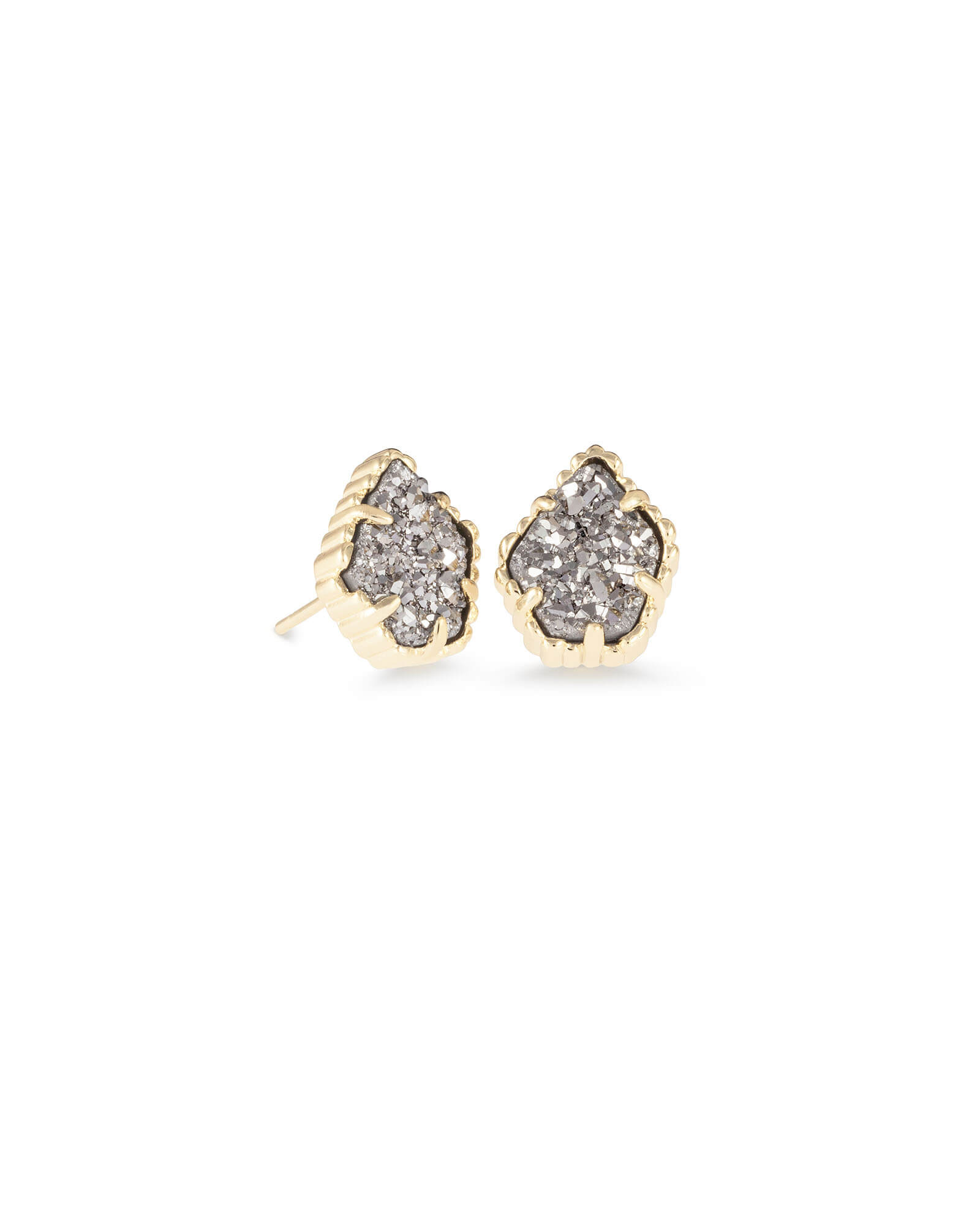 Tessa Stud Earrings in Gold