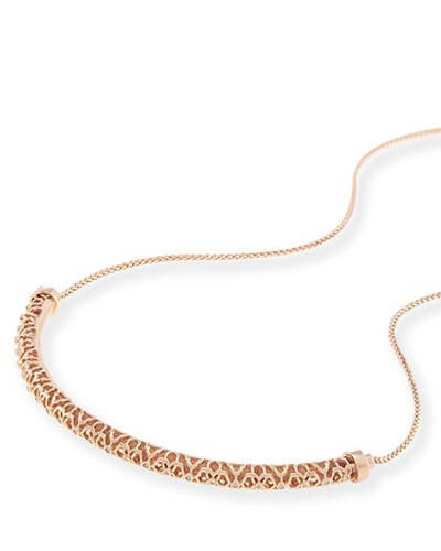 Lucy Choker Necklace in Rose Gold