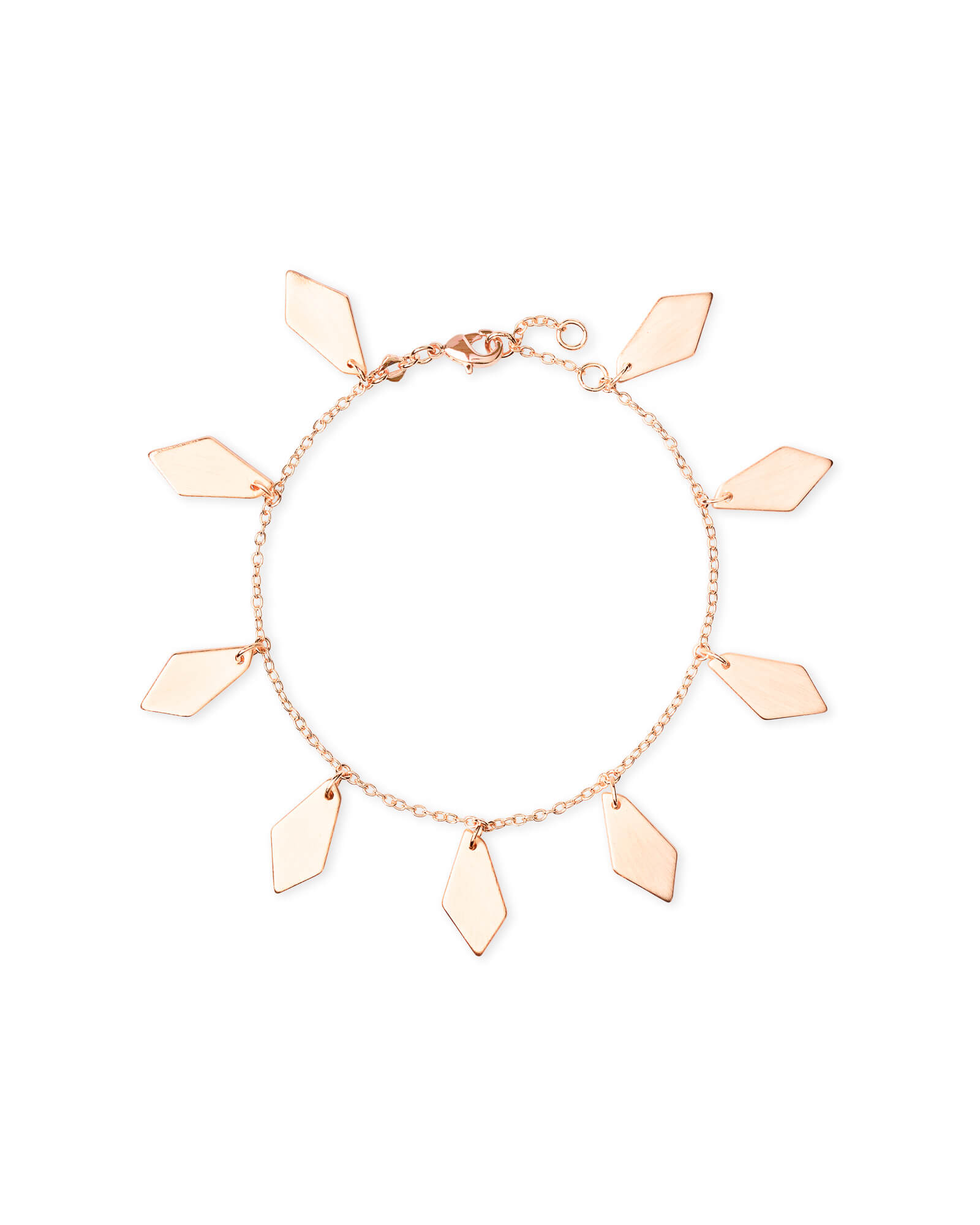 Pike Chain Bracelet In Rose Gold