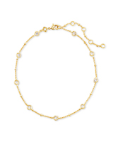 Delilah Anklet in Gold