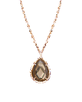 Kiri Necklace in Brown Pearl