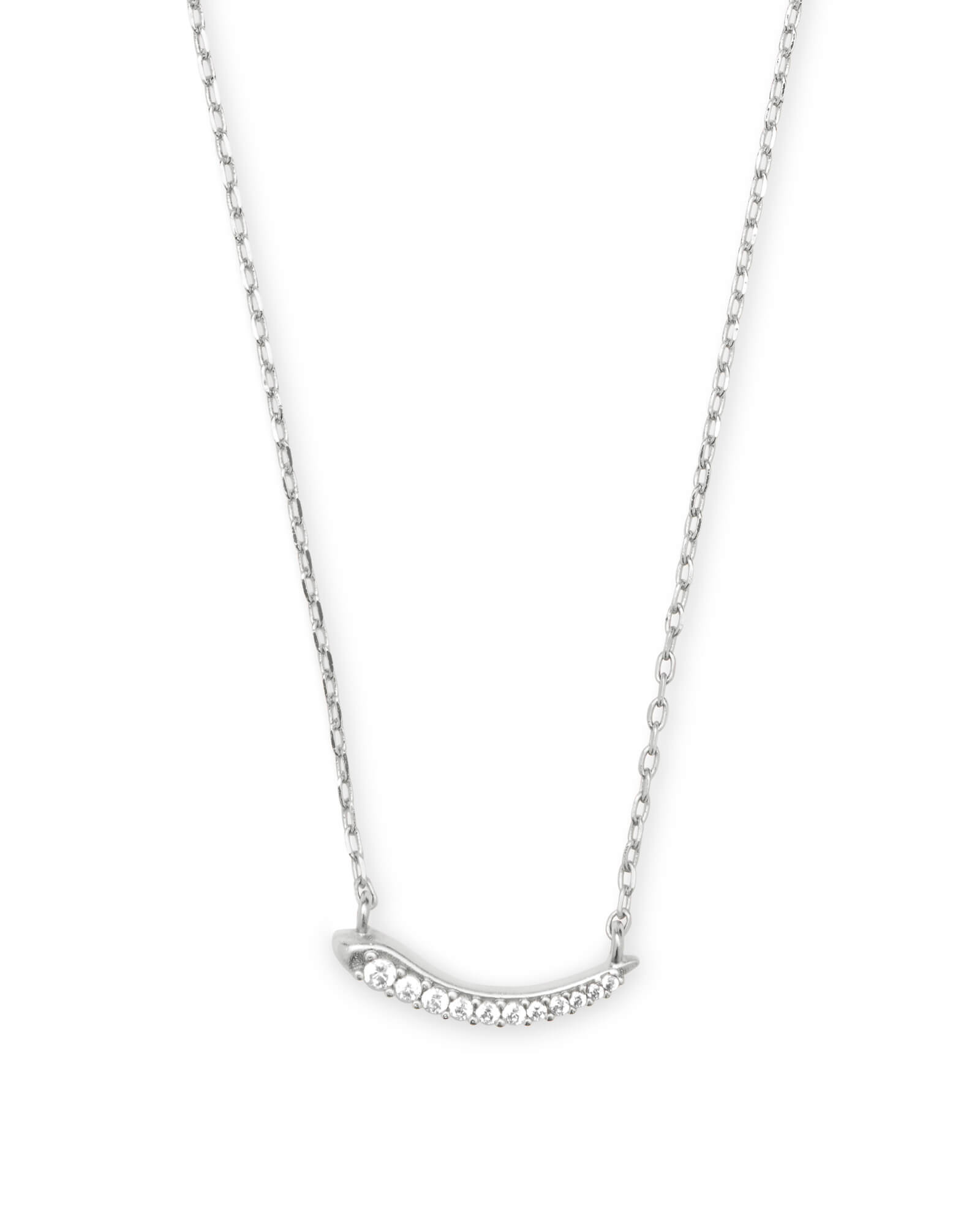 Whitlee Pendant Necklace in Silver