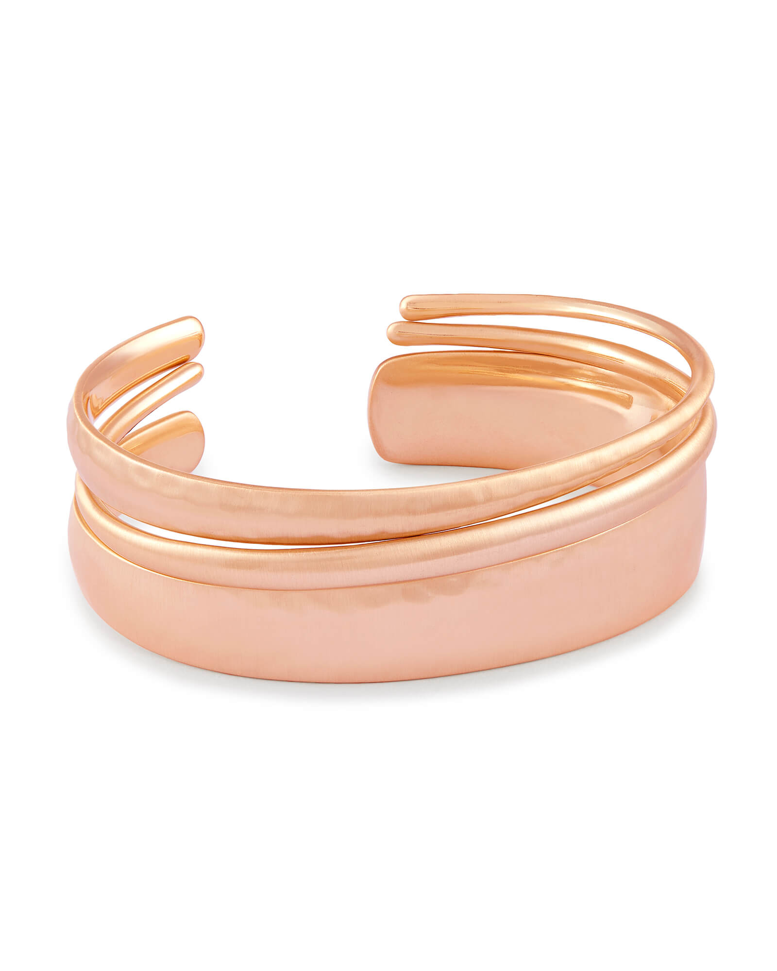 Tiana Pinch Bracelet Set in Rose Gold