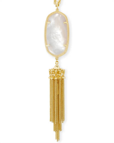 Rayne Necklace in Ivory Pearl