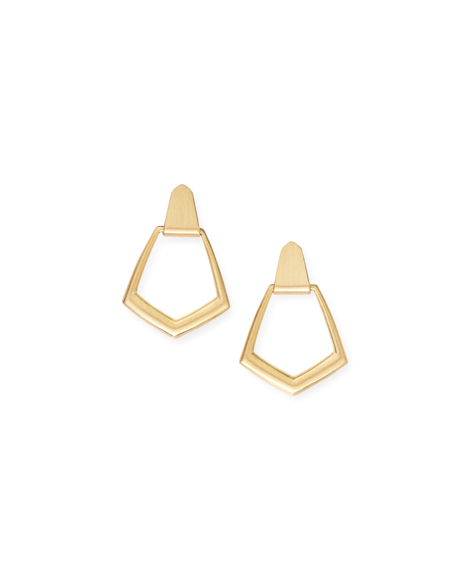 Paxton Hoop Earrings in Gold