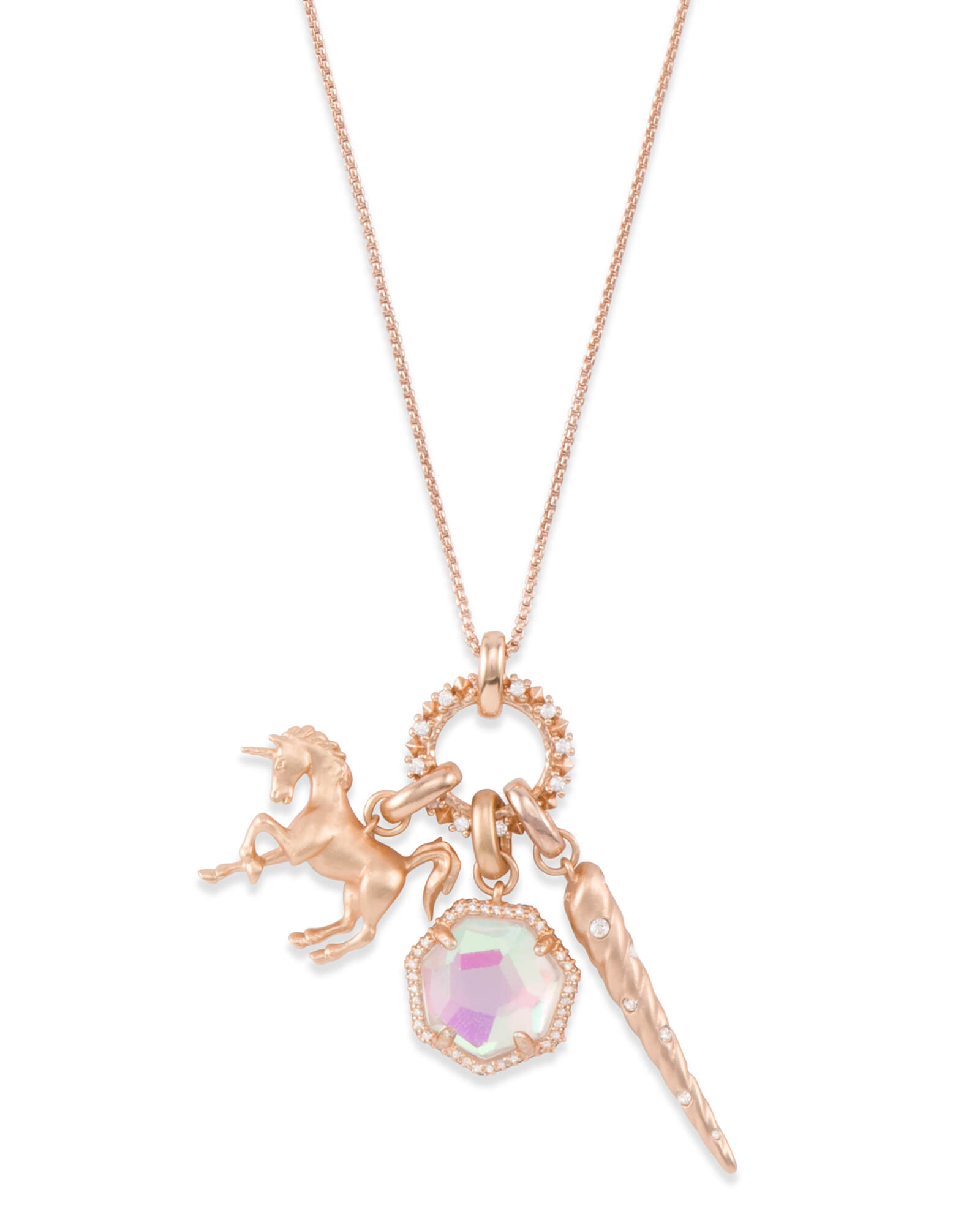 8d979cbd511 Magical Charm Necklace Set in Rose Gold | Kendra Scott