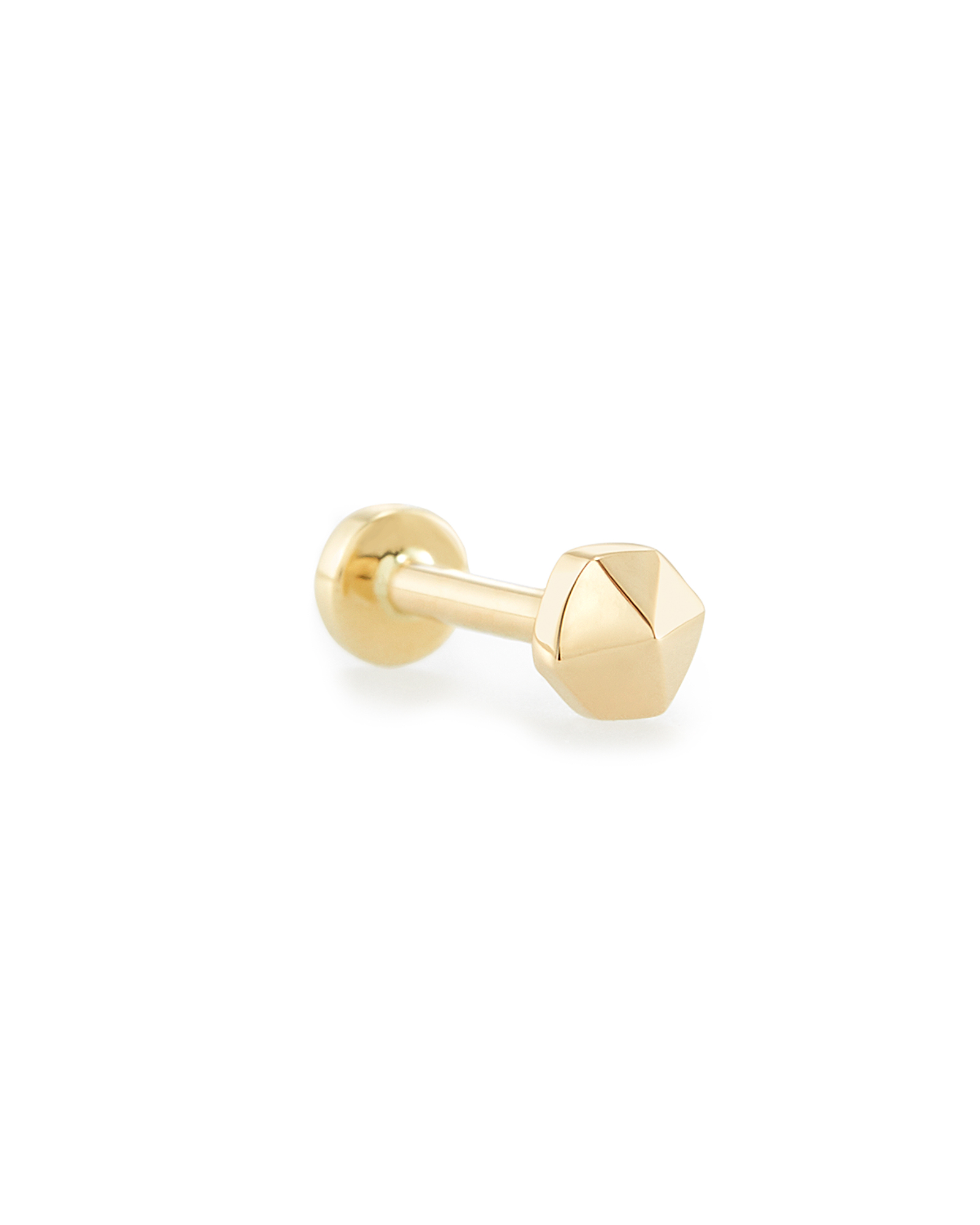 Payson Mini Stud Earring in 14K Yellow Gold