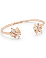 Alectra Cuff Bracelet in Rose Gold