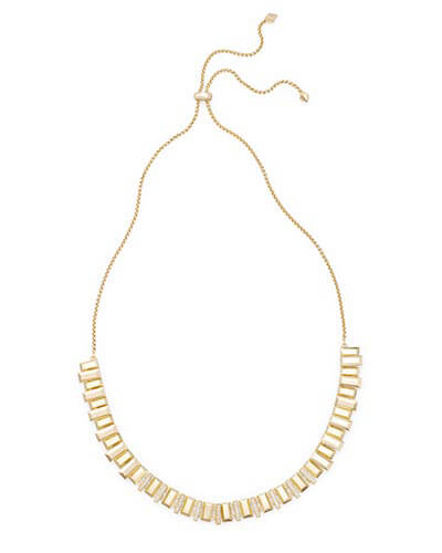 Harper Choker Necklace in Gold