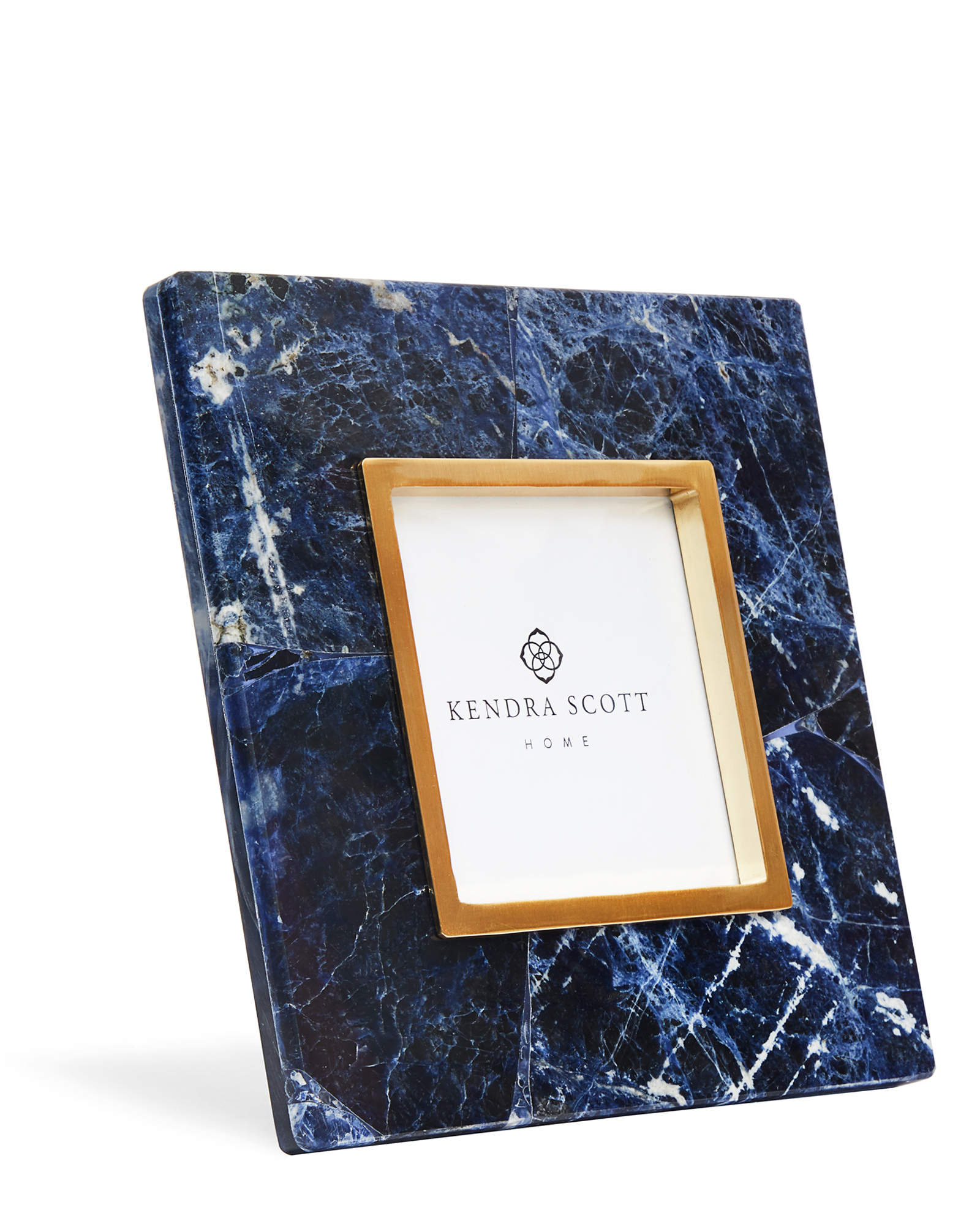 4x4 Photo Frame in Blue Sodalite