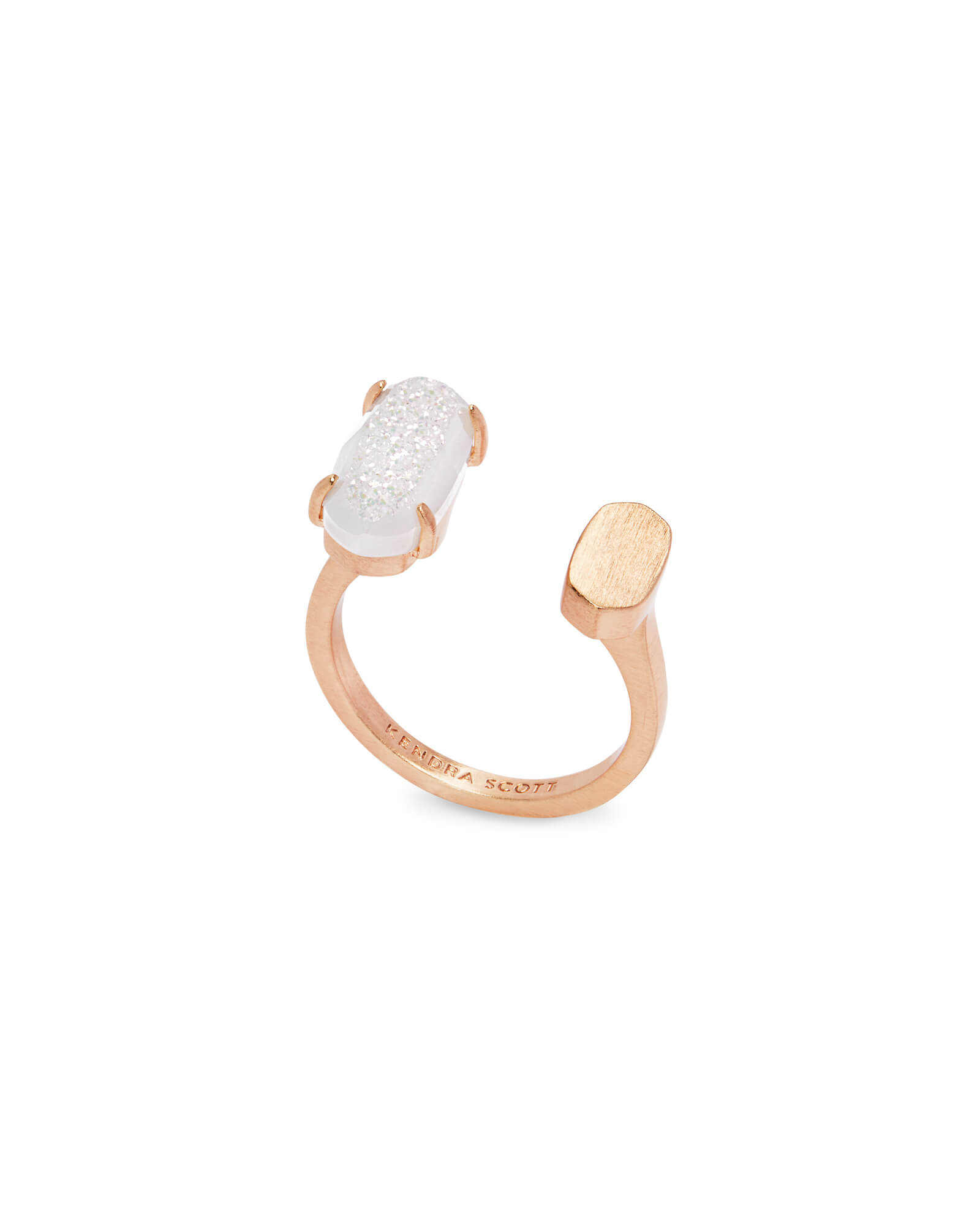 Pryde Rose Gold Open Ring