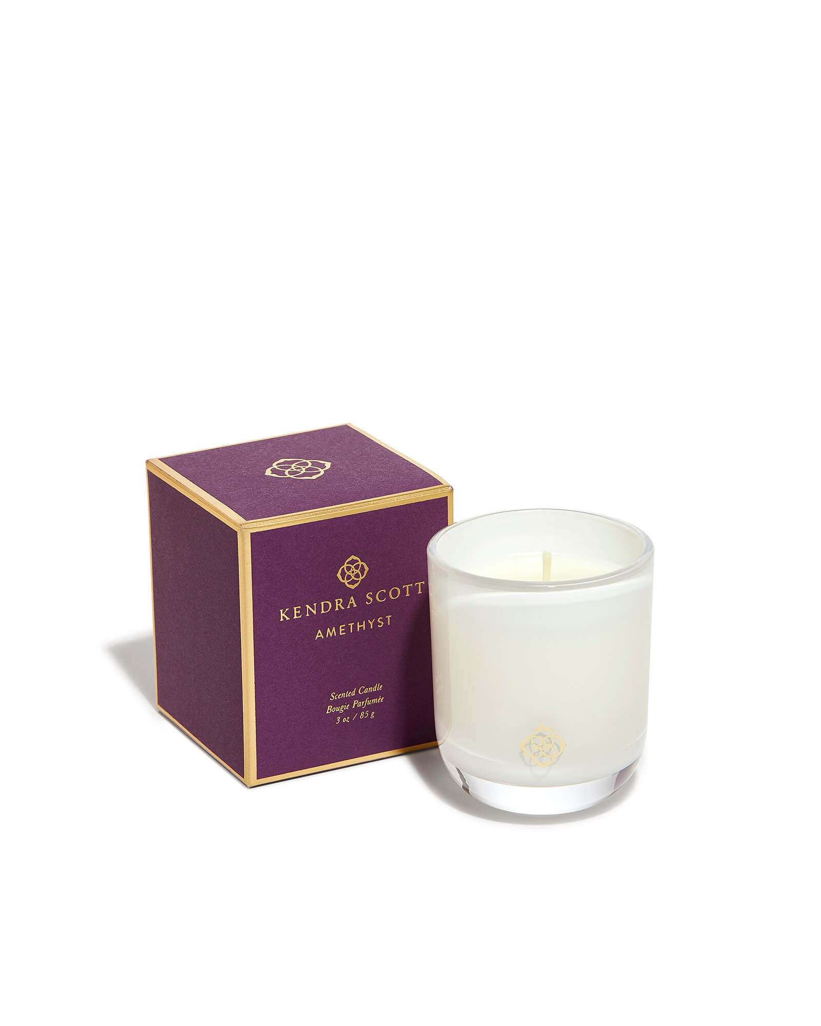 Amethyst Small Votive Candle