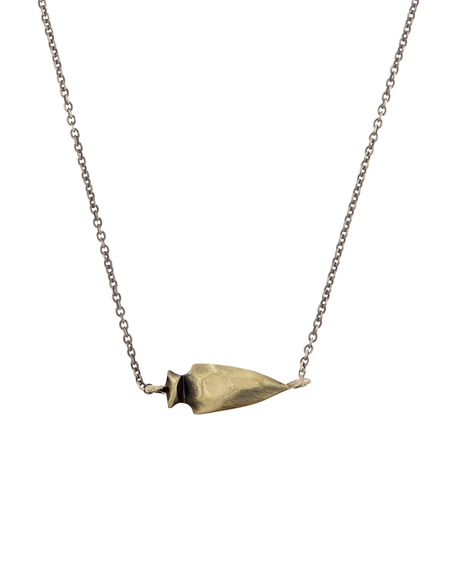Steph brass arrowhead pendant necklace kendra scott steph pendant necklace in antique brass aloadofball Images