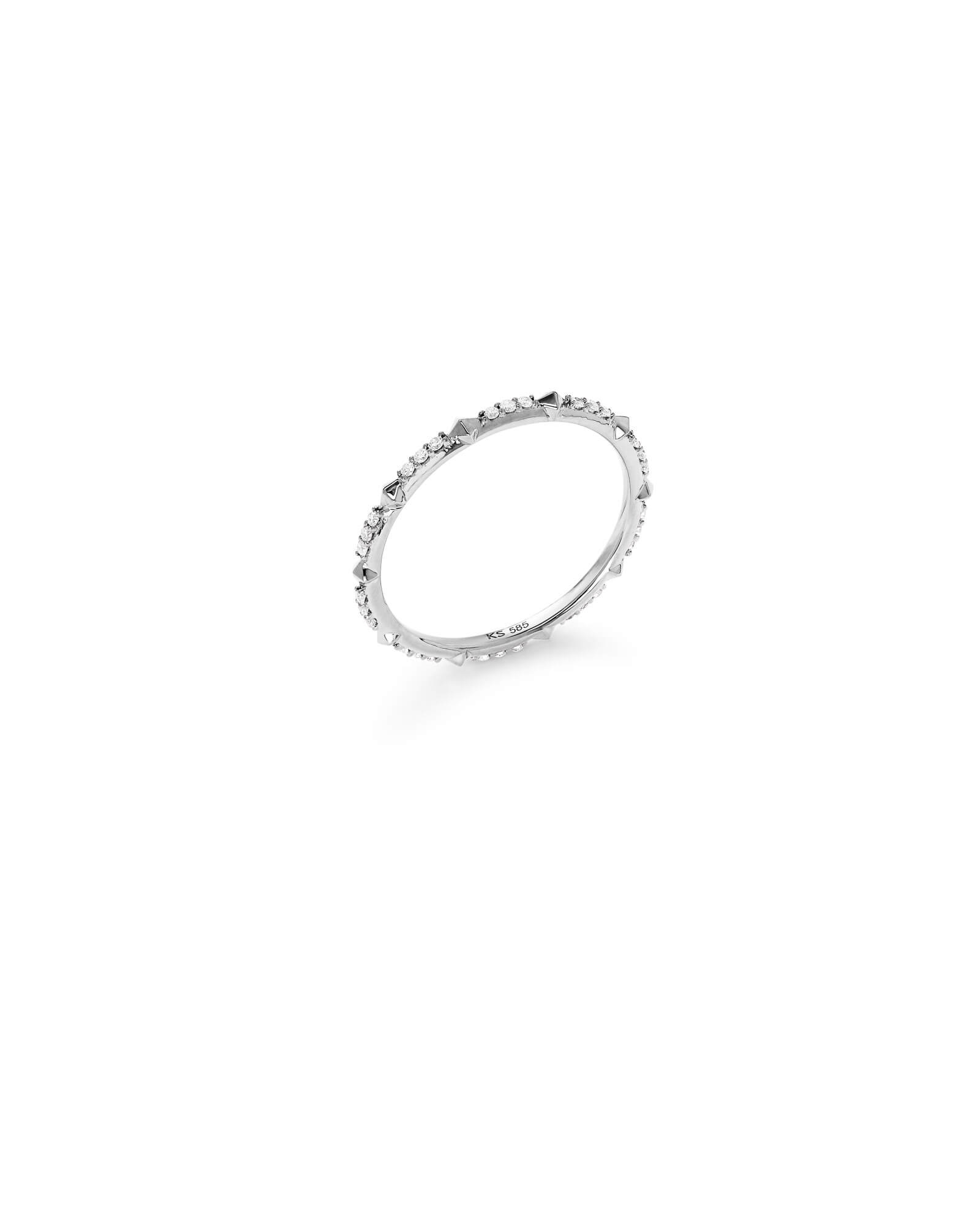 Astrid 14k White Gold Ring
