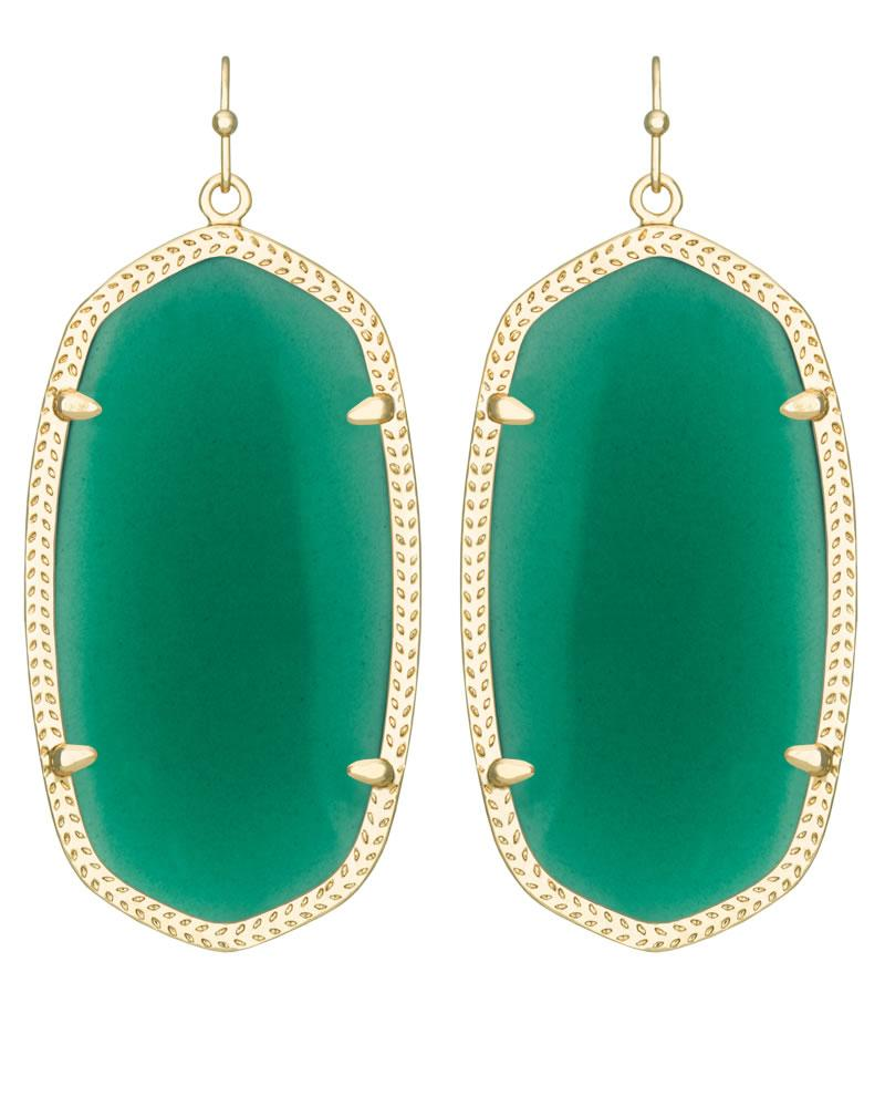 diamonds earrings green in drop with gold tw tourmaline white