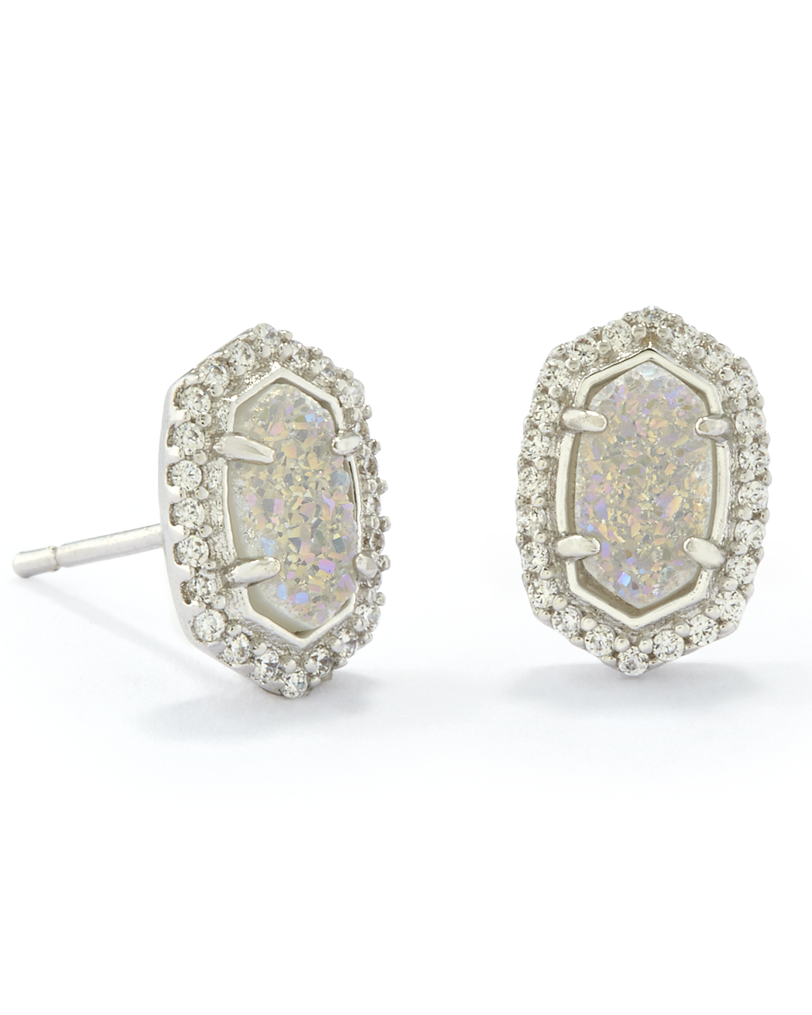 Cade Stud Earrings In Silver