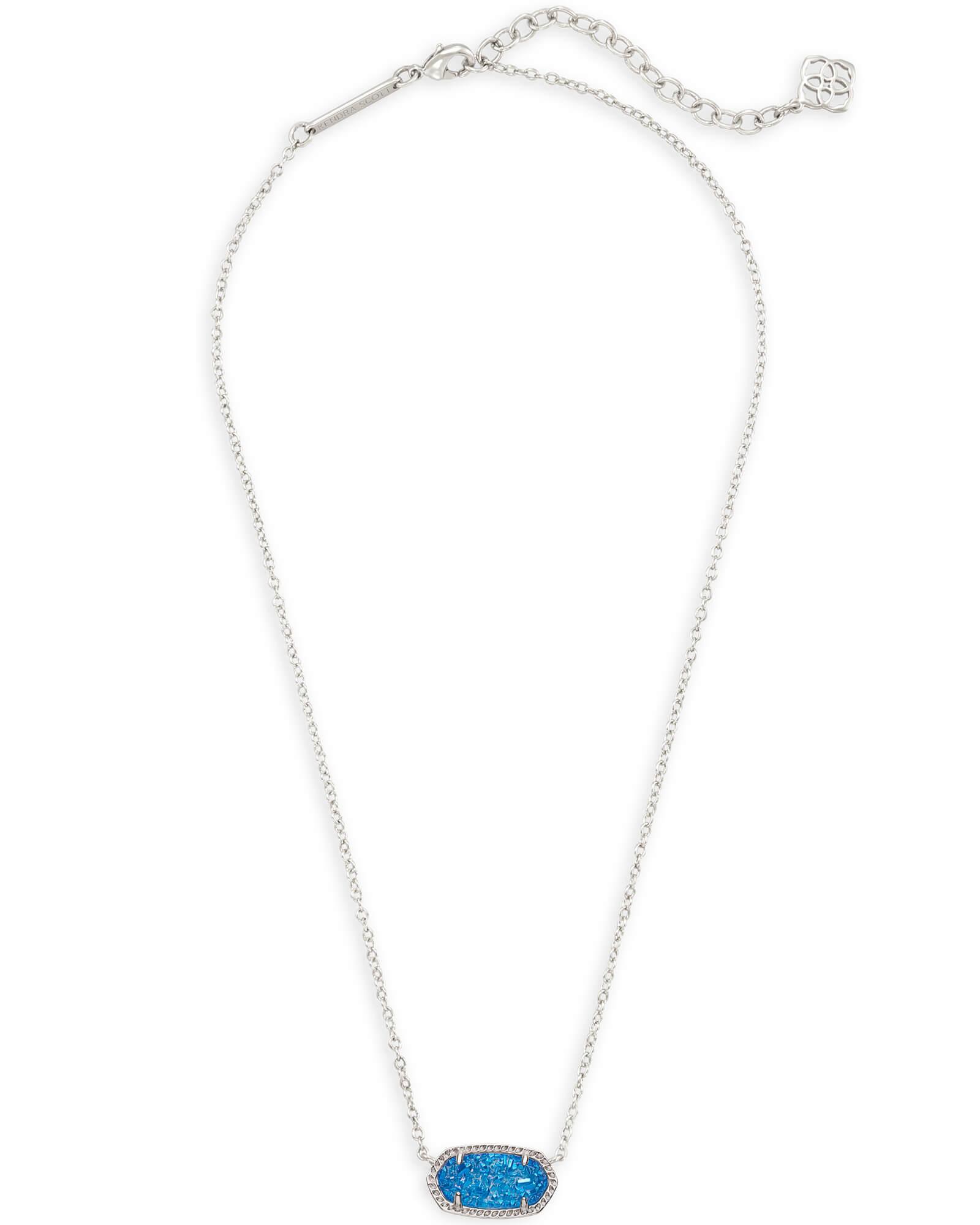Monies iridescent multi pendant necklace - Black kZVLalxD