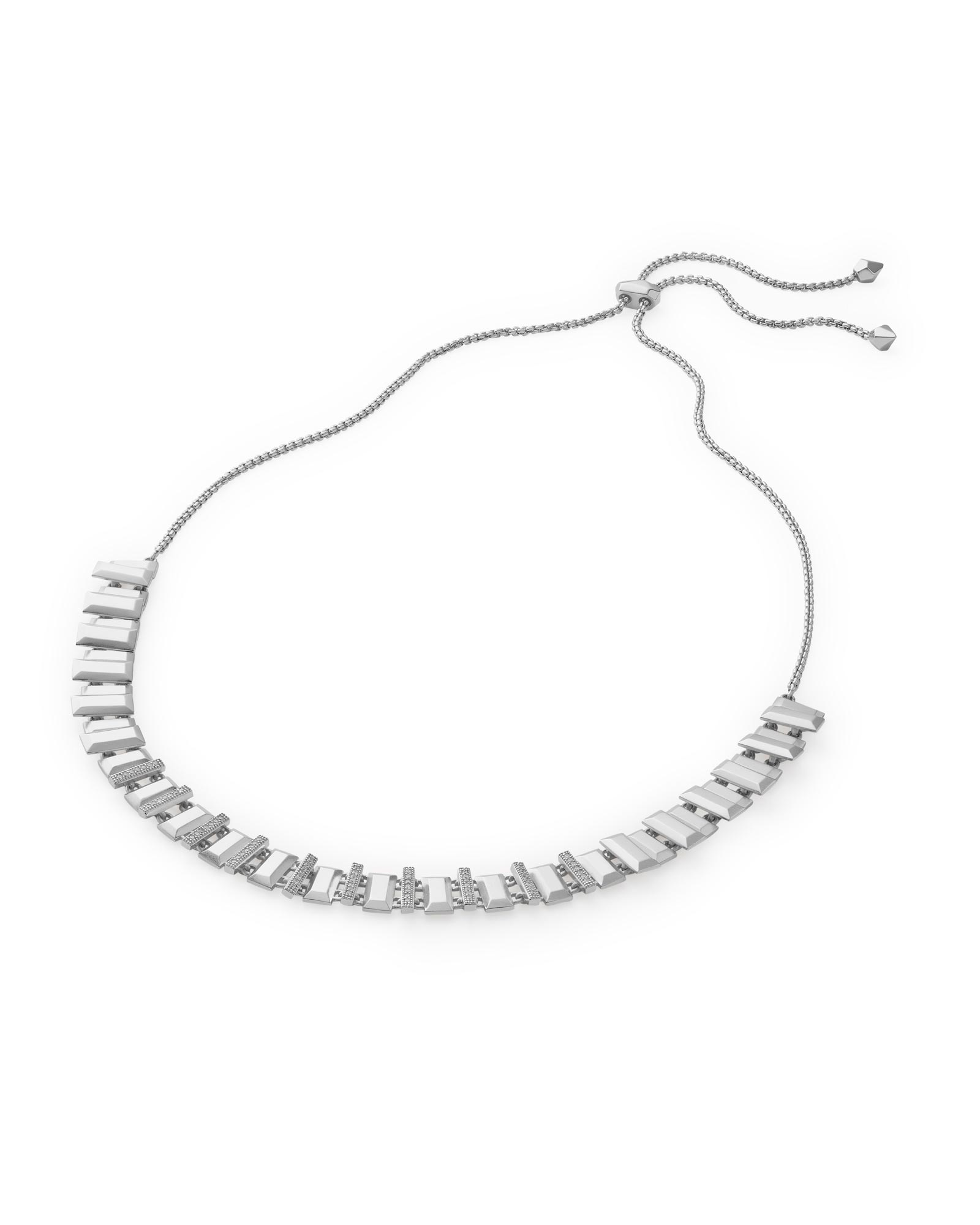 Harper Choker Necklace in Silver
