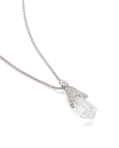 Colby Pendant Necklace in Silver