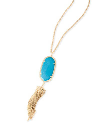 Rayne Necklace in Turquoise