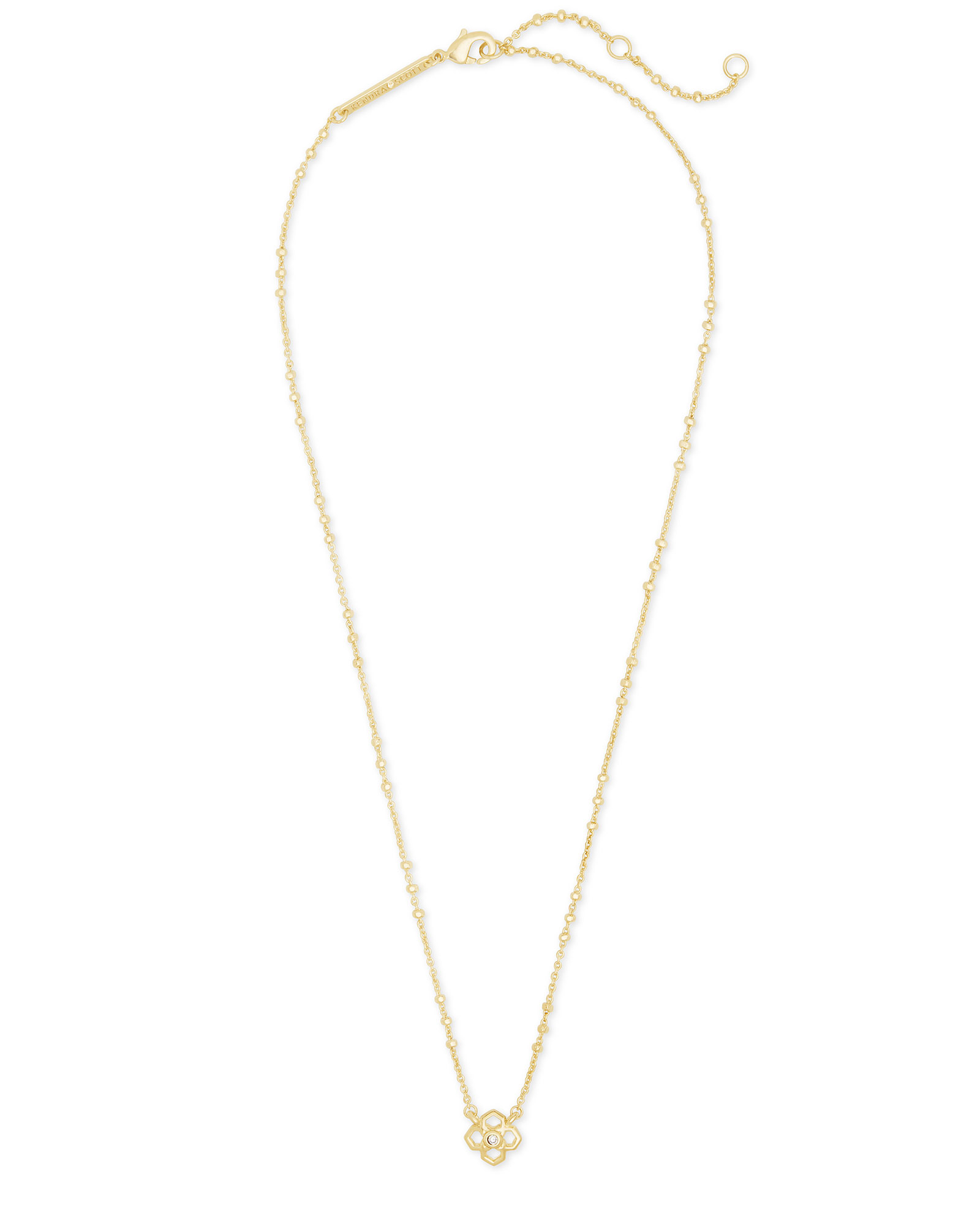 Rue Pendant Necklace In Gold