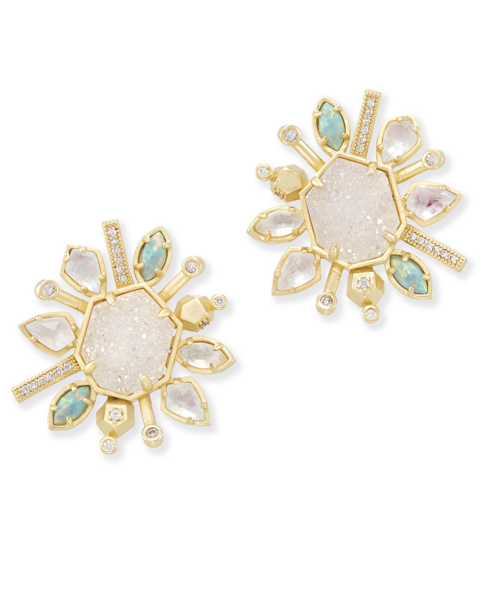 Ophelia Stud Earrings In Haven