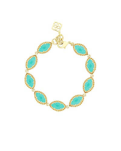 Jana Bracelet in Teal