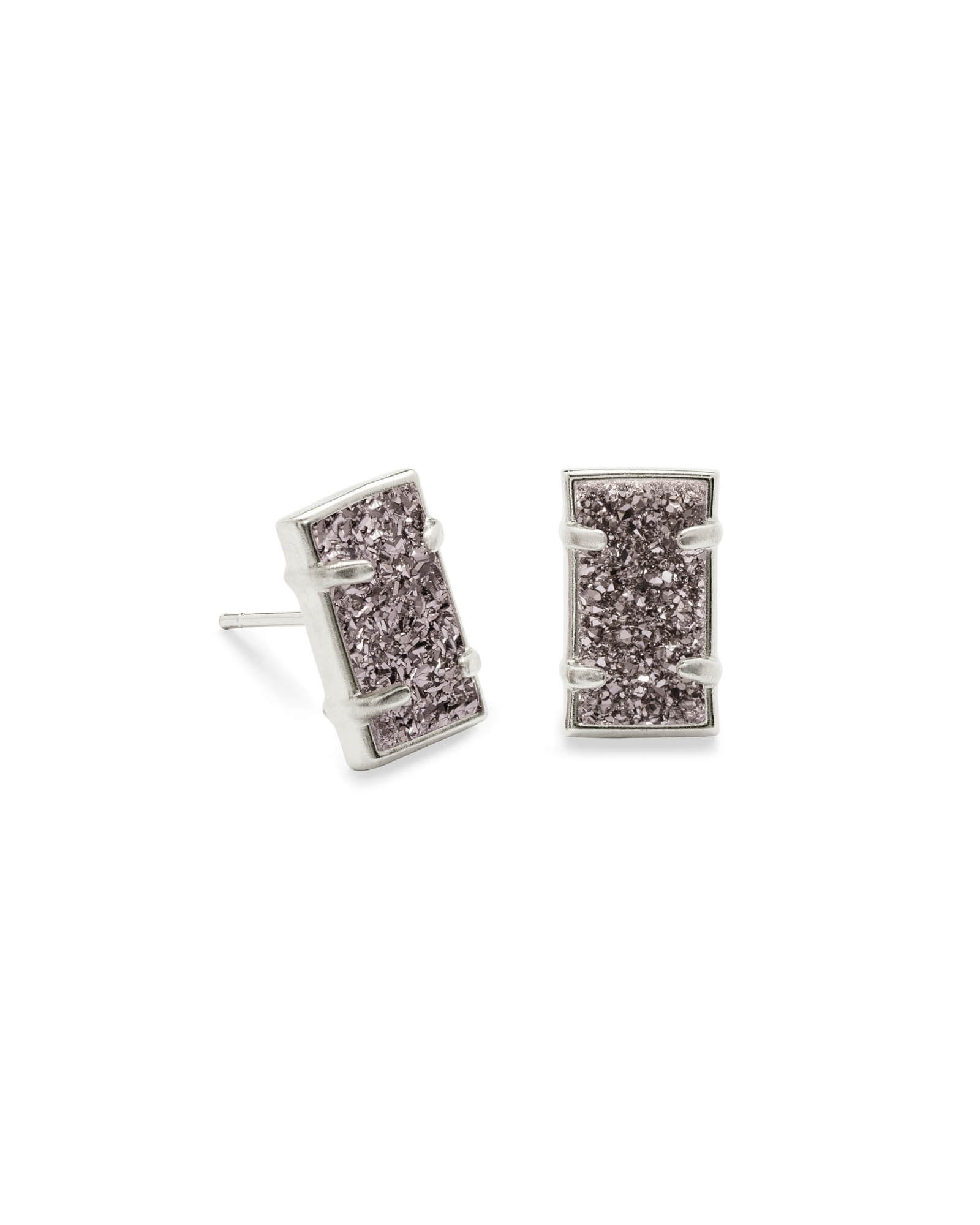 Paola Stud Earrings in Silver