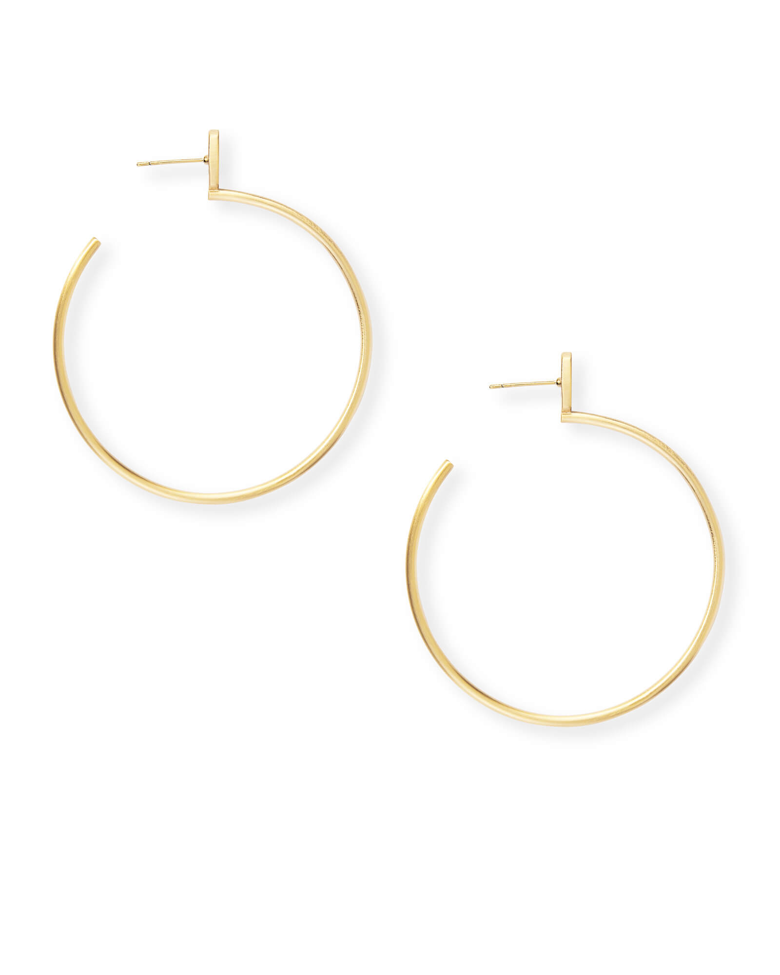 Pepper Hoop Earrings in Gold