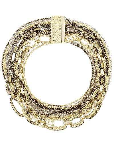 Marci Statement Necklace in Mixed Metals