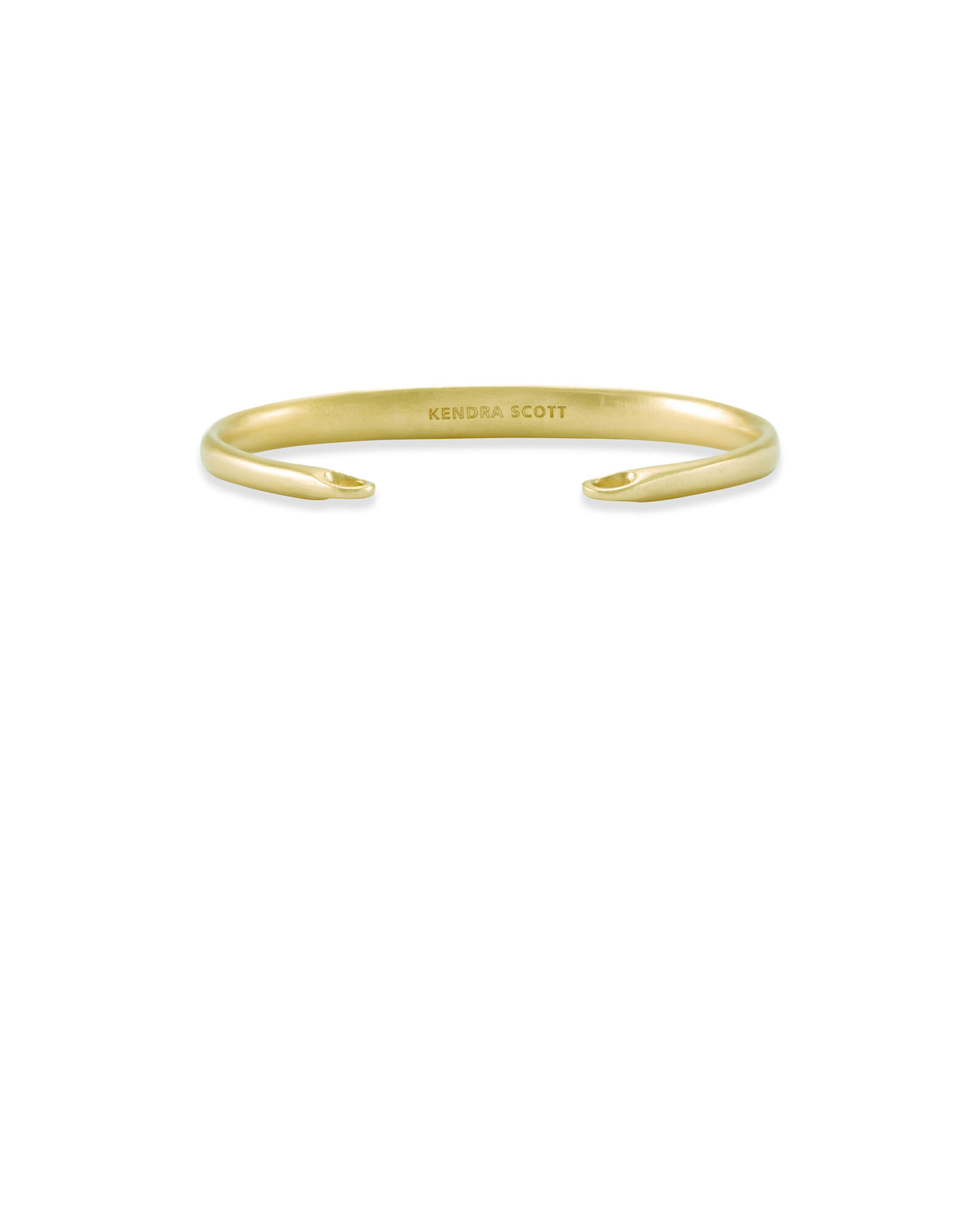 Pinch Cuff Bracelet in Gold