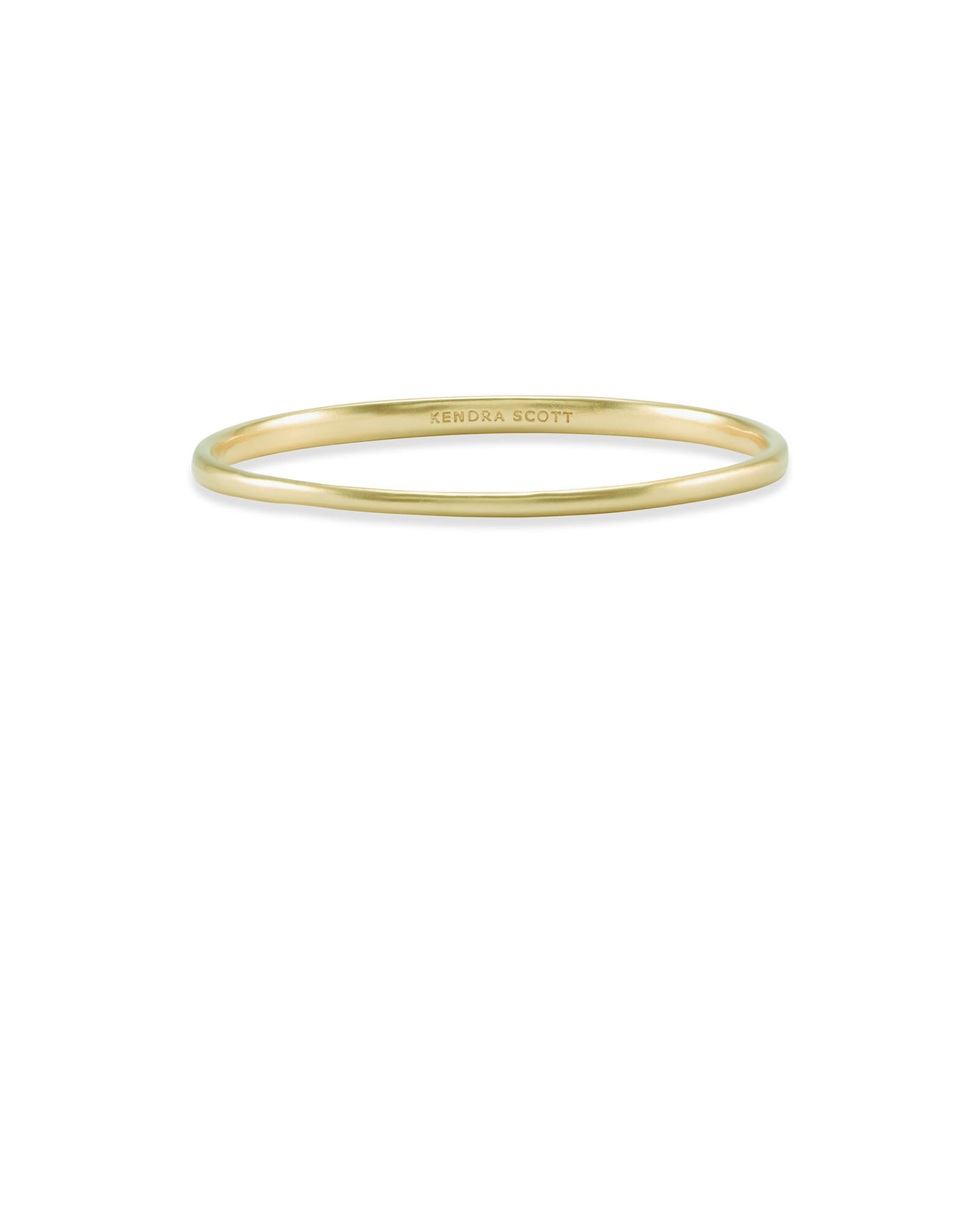 Graduated Bangle Bracelet in Gold