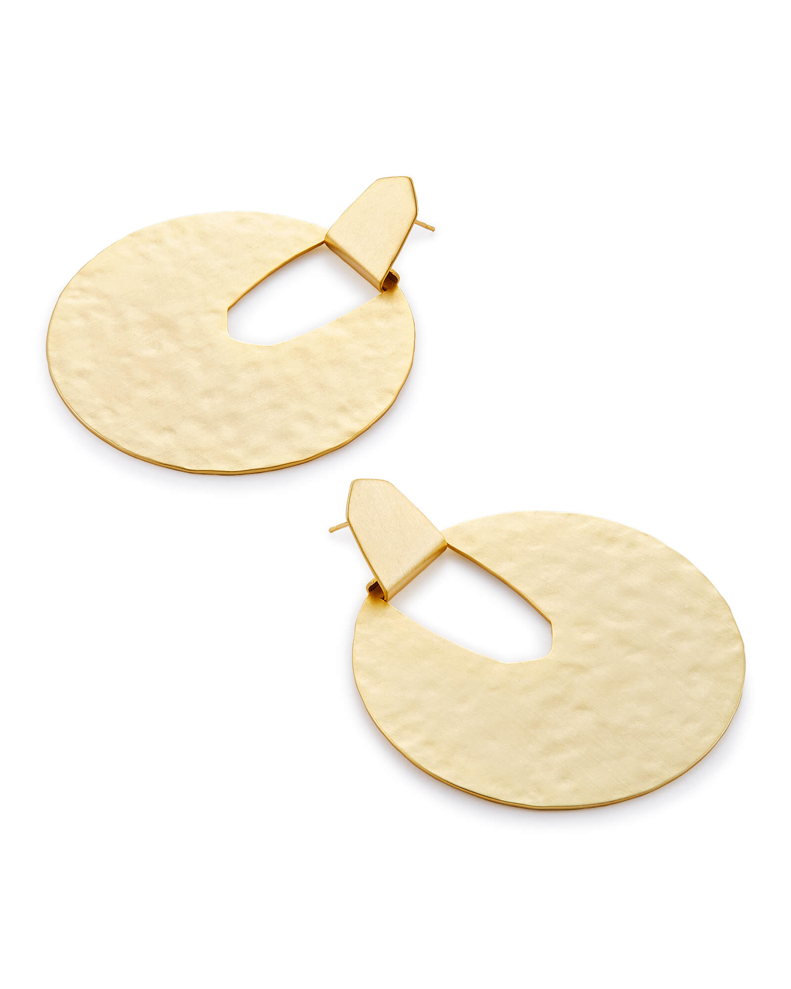 Diane Statement Metallic Earrings