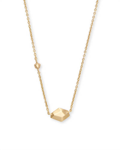 Laureen Pendant Necklace in Gold