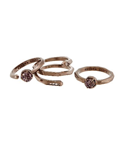 Warren Stackable Ring Set