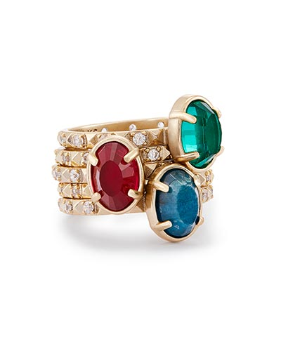 Kendra Scott - Darci Stackable Ring Set - 6 Photo