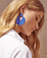 Diane Statement Earrings in Matte