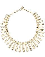Jill Statement Necklace in Gold