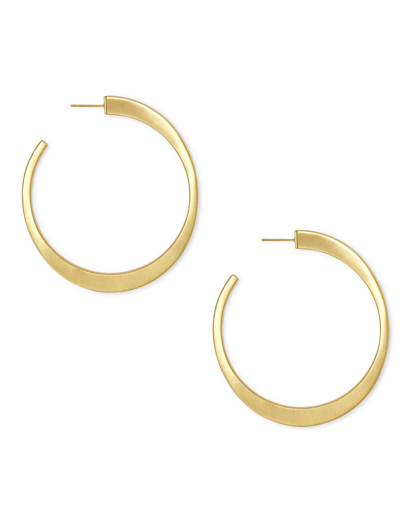 Avi Hoop Earrings In Gold