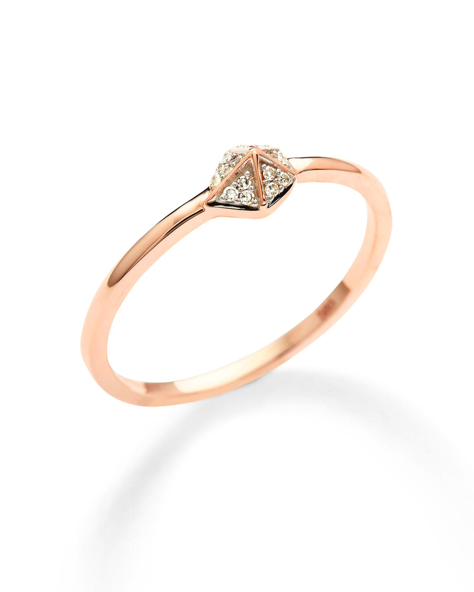 Fazia Ring in White Diamond