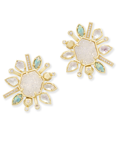 Ophelia Stud Earrings in Haven