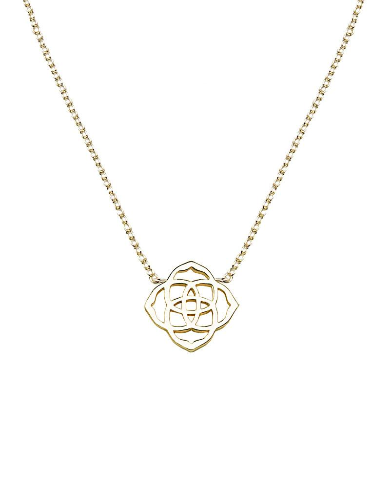 Decklyn Pendant Necklace In Gold