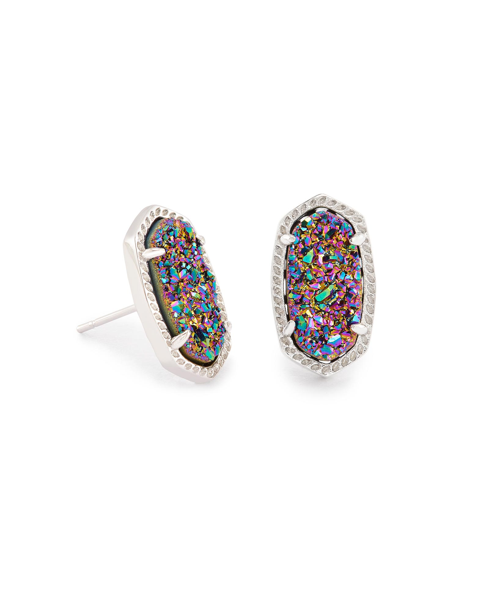 on with stud cadmium item zircon earrings plated bamoer aaa gold accessories real multicolor stone jewelry in color unique free from nickel
