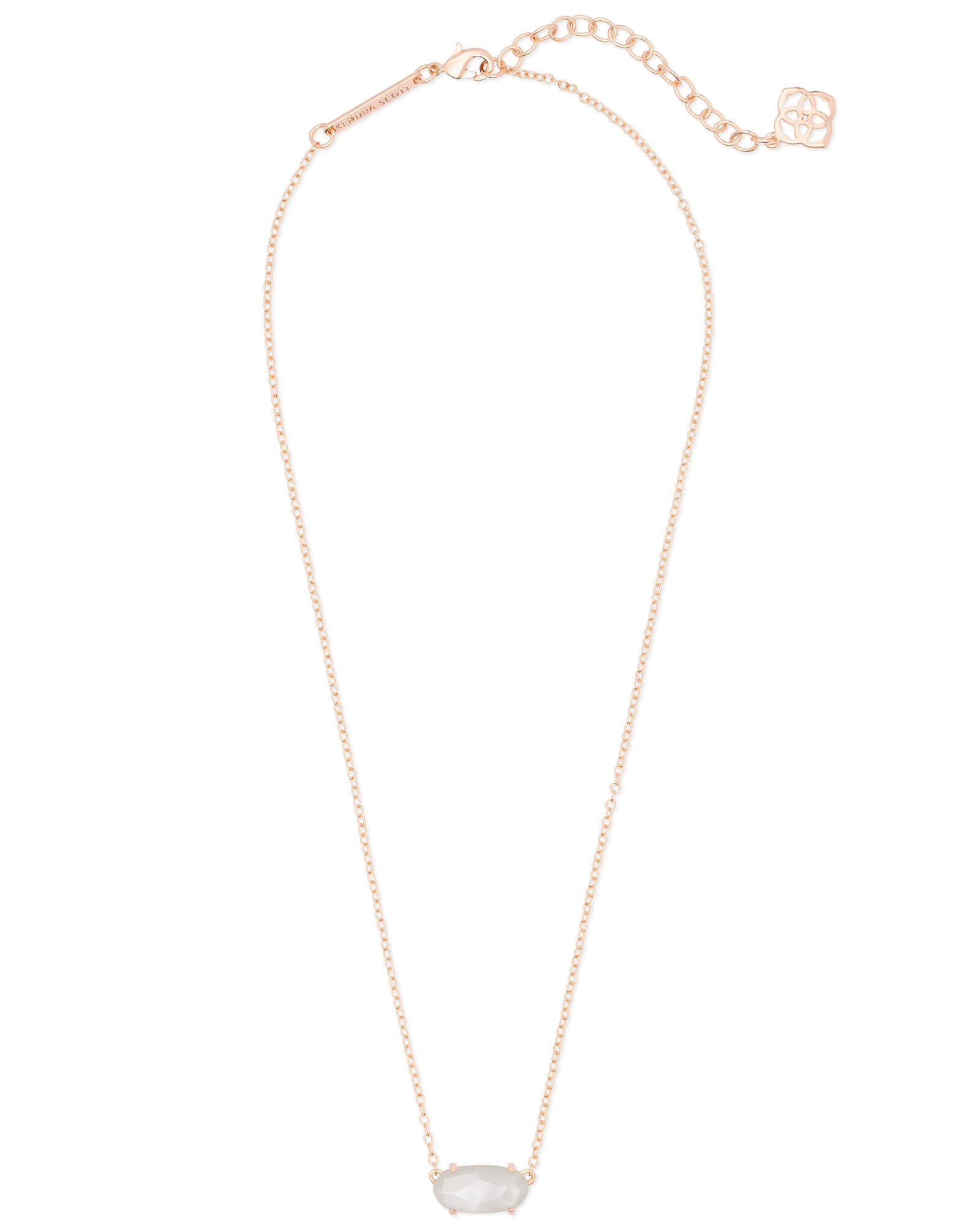 Ever Rose Gold Pendant Necklace in Ivory Pearl