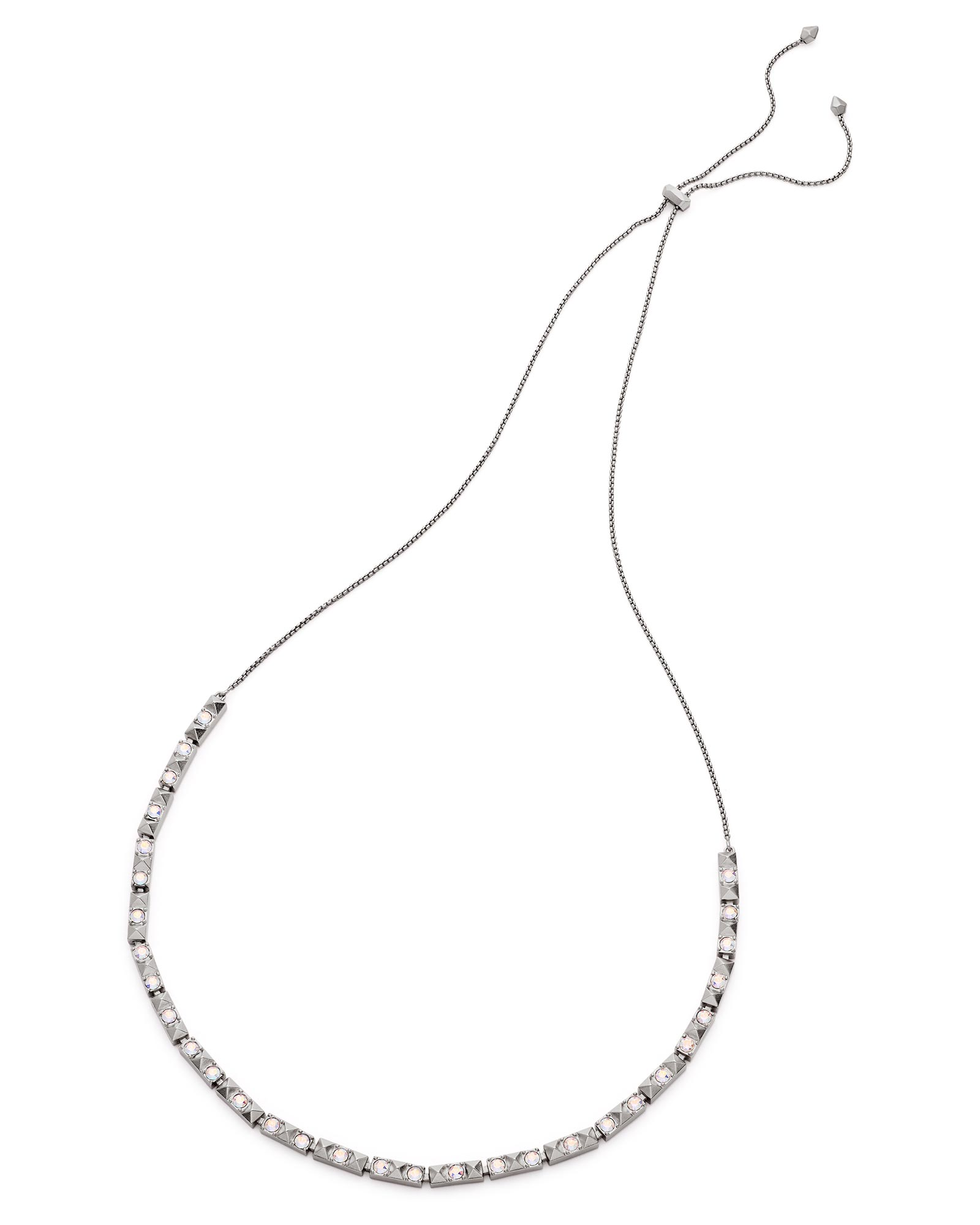 Irit Choker Necklace in Antique Silver
