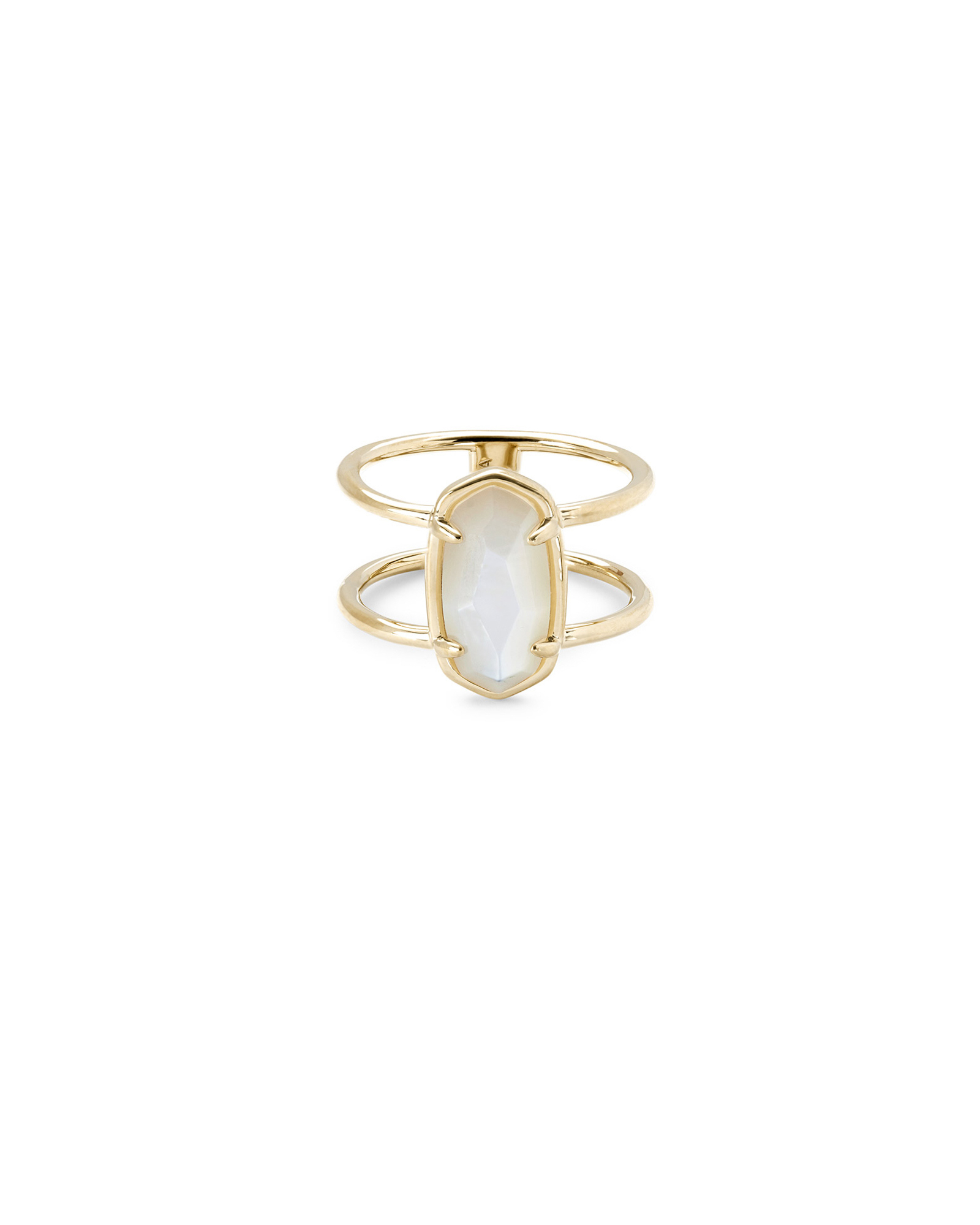 Elyse Gold Vermeil Double Band Ring